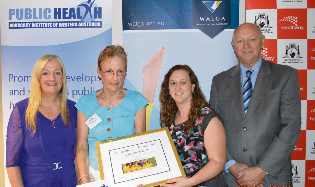 City of Rockingham receives award for commitment to support young people