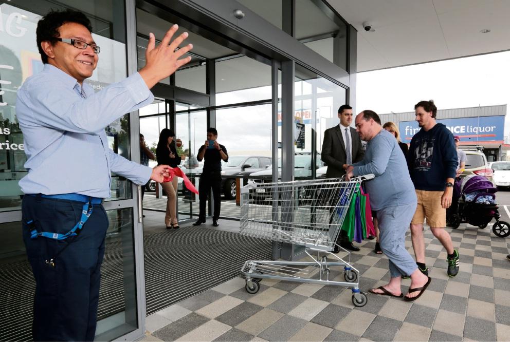 Excitement as Aldi finally opens in Ellenbrook