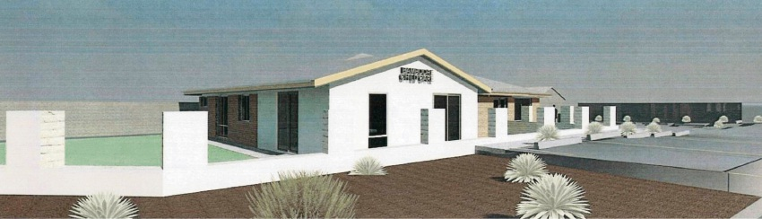 The design of the proposed childcare centre that was refused.