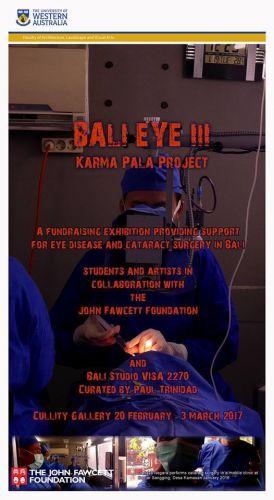 UWA Balistudio Student art exhibition opening