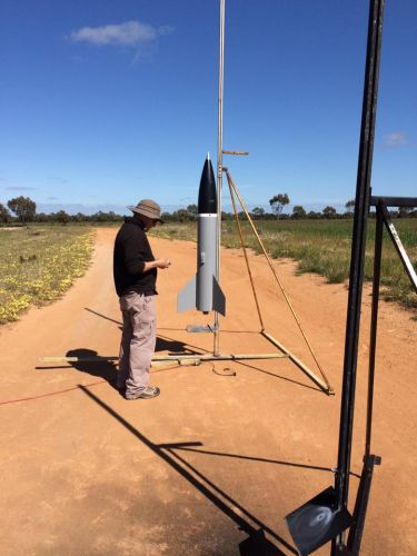 Advanced Rocketry Club in Toodyay this Sunday