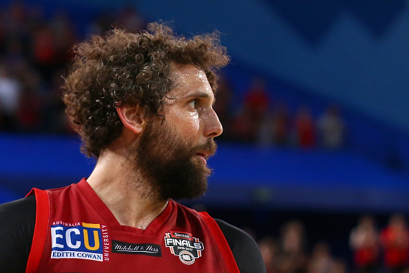 Matt Knight is free to play for the Wildcats in the NBL grand final series after receiving a suspended sentence for rough conduct. Picture:: Paul Kane/Getty Images