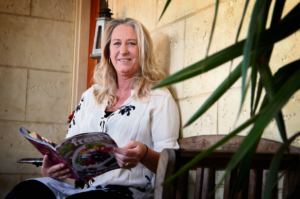 Kerryn Armstrong-Jones saved a man's life when he came off his motorbike. Picture: David Baylis