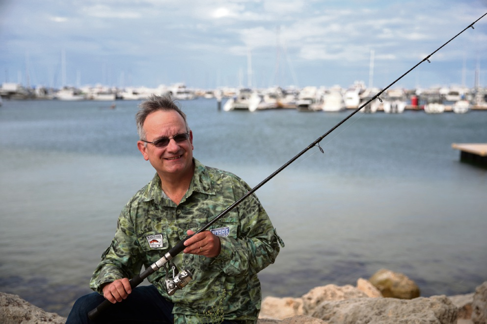 Cast your line to Woodvale Library to hear author and fishing afficianado Frank Propop discuss his books and his passion  Picture: Martin Kennealey d465366
