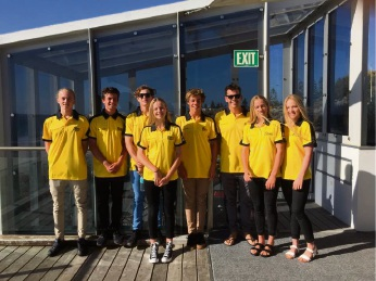Members of Sorrento Surf Life Saving Club who headed east to represent WA at two national competitions.