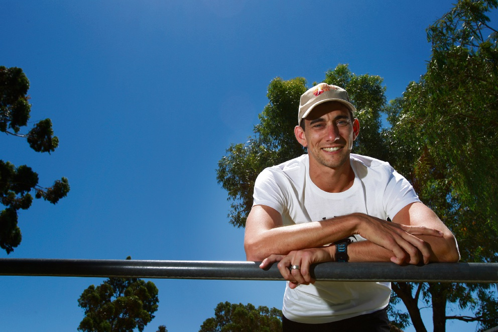 Ben Darcy will run to fight child abuse. Picture: Marie Nirme    d464580