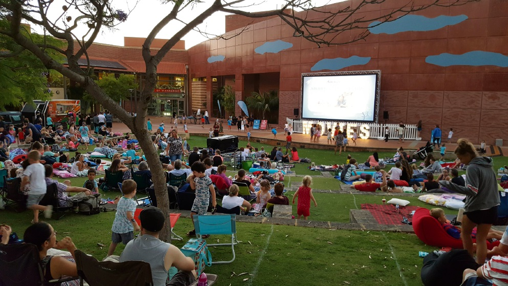 City of Wanneroo's Live in the Ampitheatre draws thousands to free films