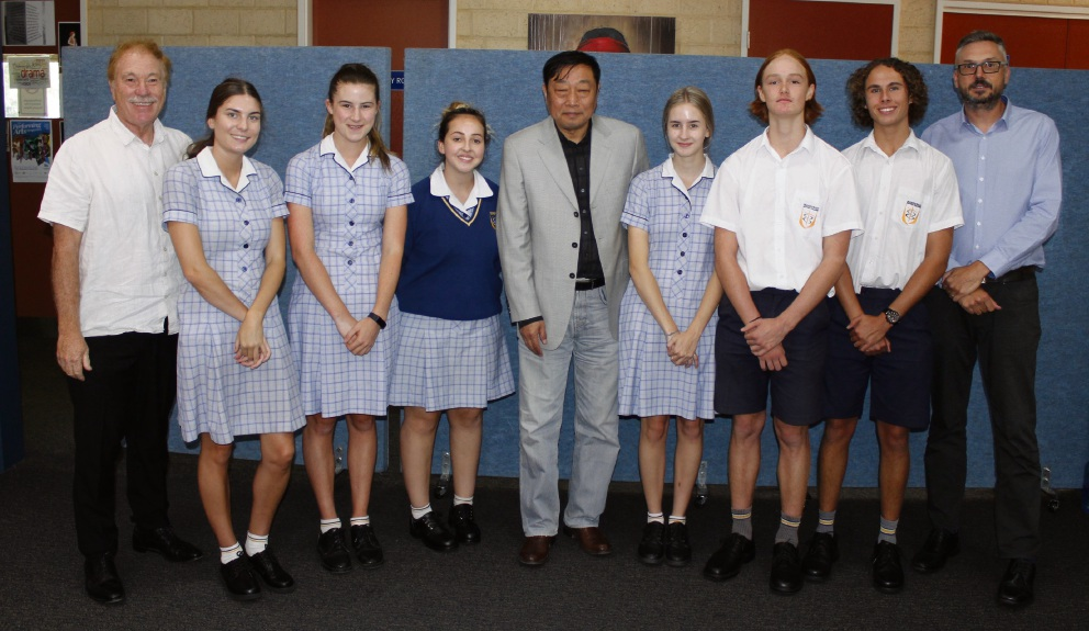 Mandurah Baptist College gets visit from major Chinese filmmaker