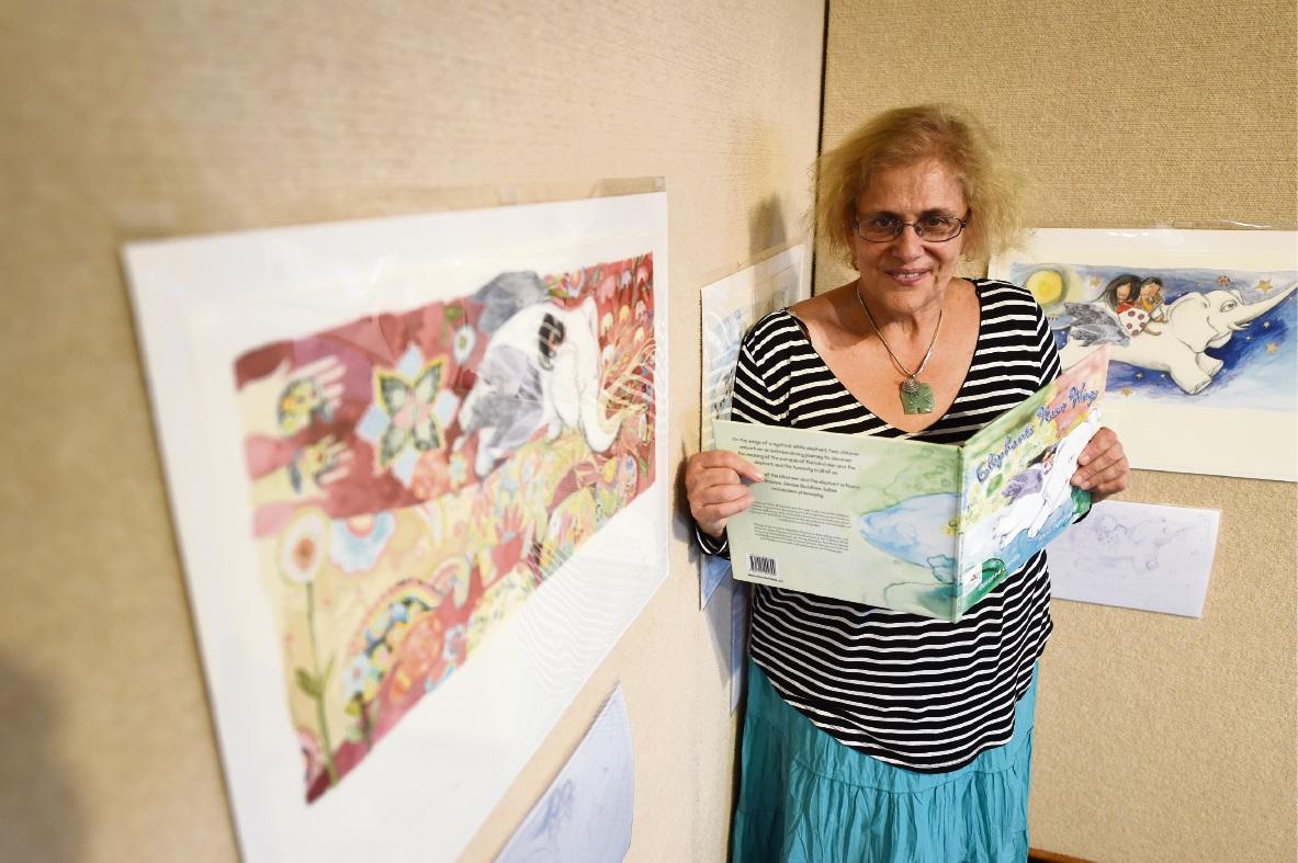 Children's author Susanne Gervay. Picture: Jon Hewson