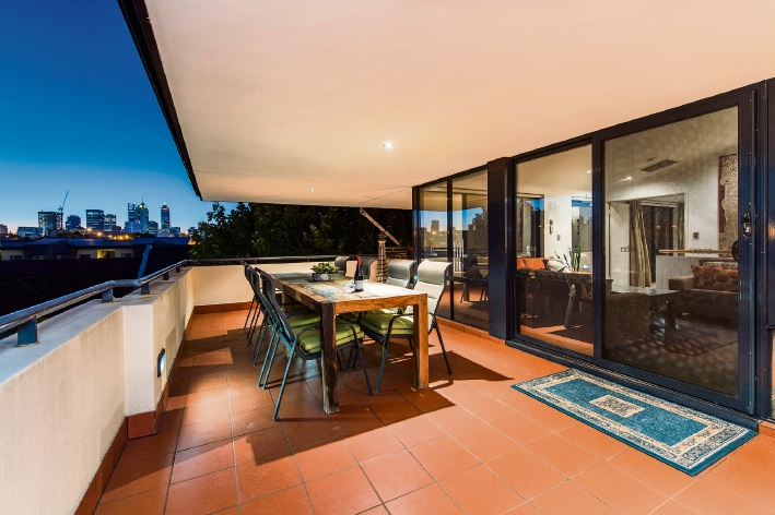 This three-bedroom, split-level apartment was sold within a week. The buyer was renting in the area and decided it was the right time to purchase a home in East Perth.