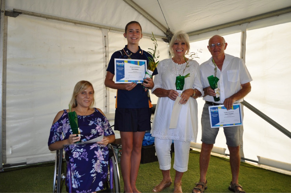 Paralympic hopeful awarded Mundaring outstanding citizen award