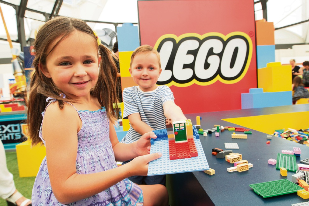 Lego Play Zone at Lakeside Joondalup Shopping Centre