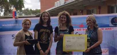Warnbro Community High School students sleep rough to raise money for Anglicare