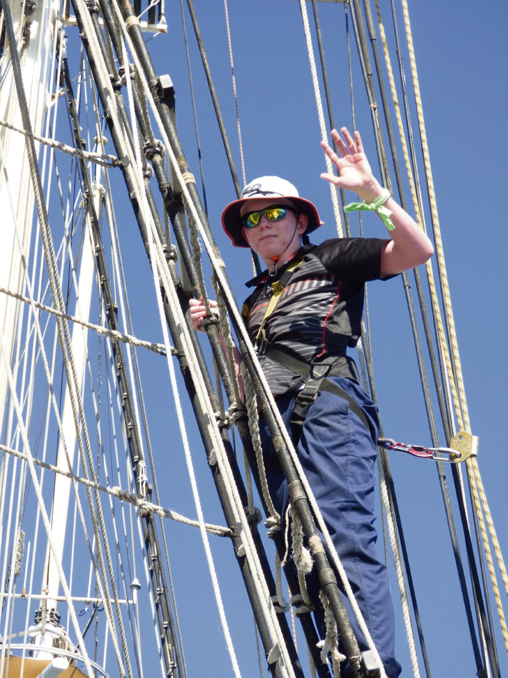Kwinana teen undertakes five-day voyage on the Leeuwin II