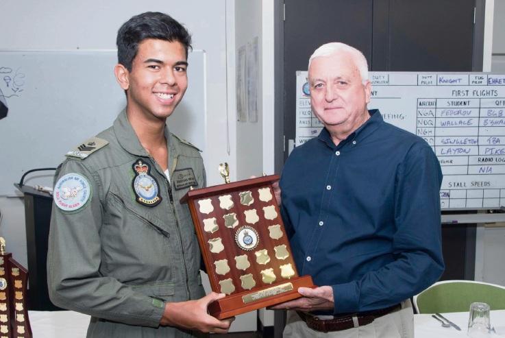 Rockingham Air Force cadet wins award for Piper Warrior flights