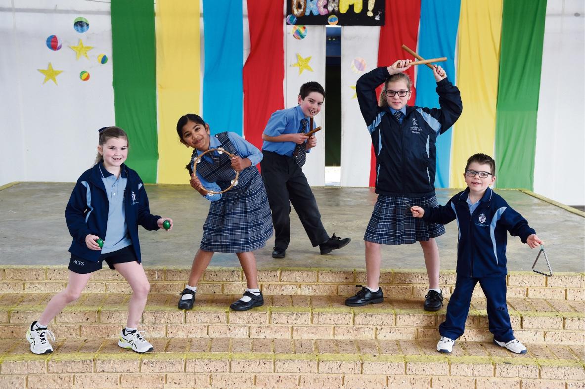 Assumption Catholic Primary School pupils prepare for Count Us In