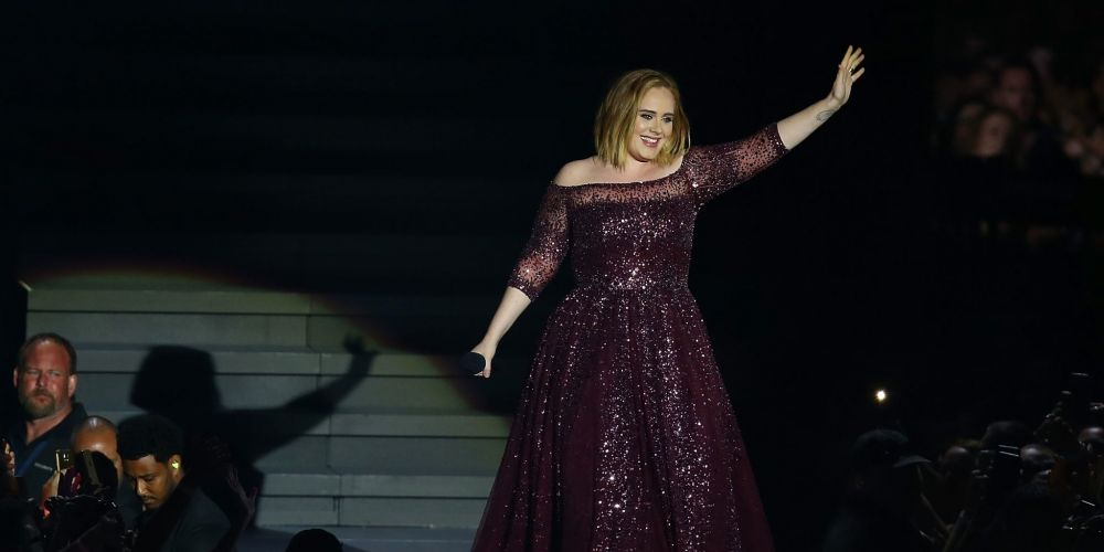 Adele wowed her Perth audience last night. Picture: Paul Kane/Getty Images