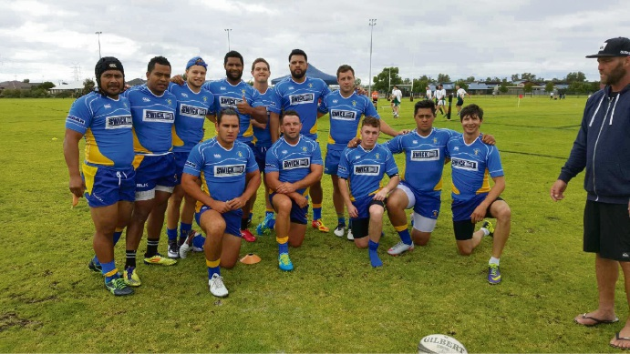Nedlands men's team.