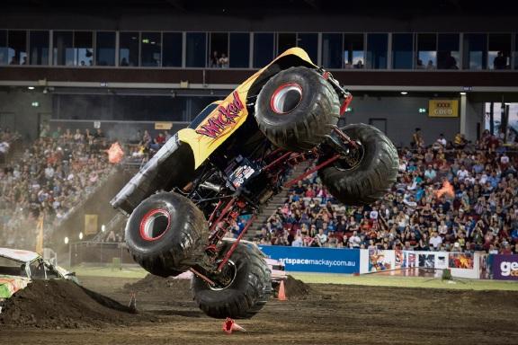Monster Trucks Unleashed at Kwinana Motorplex