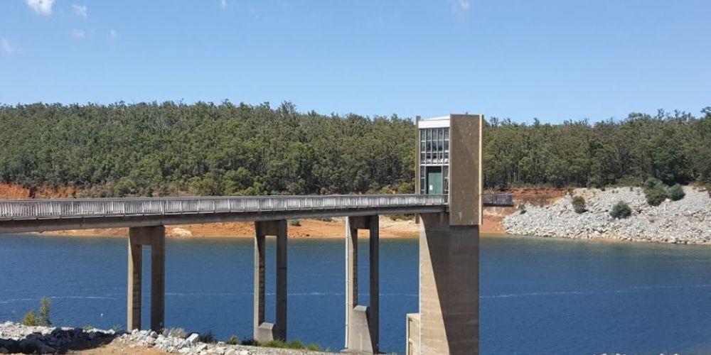 Serpentine Dam.