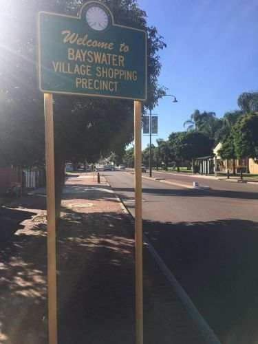 Welcome signs have outstayed their welcome in the City of Bayswater.