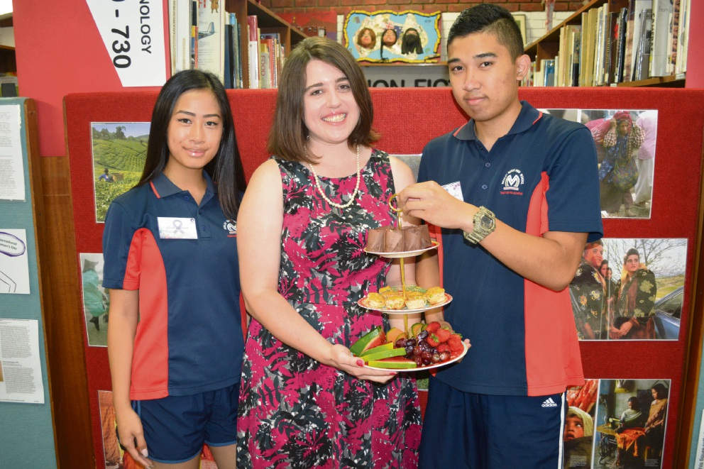 Morley students serve it up for International Women's Day