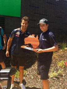 WA Go-kart champ aims to follow Daniel Ricciardo into F1