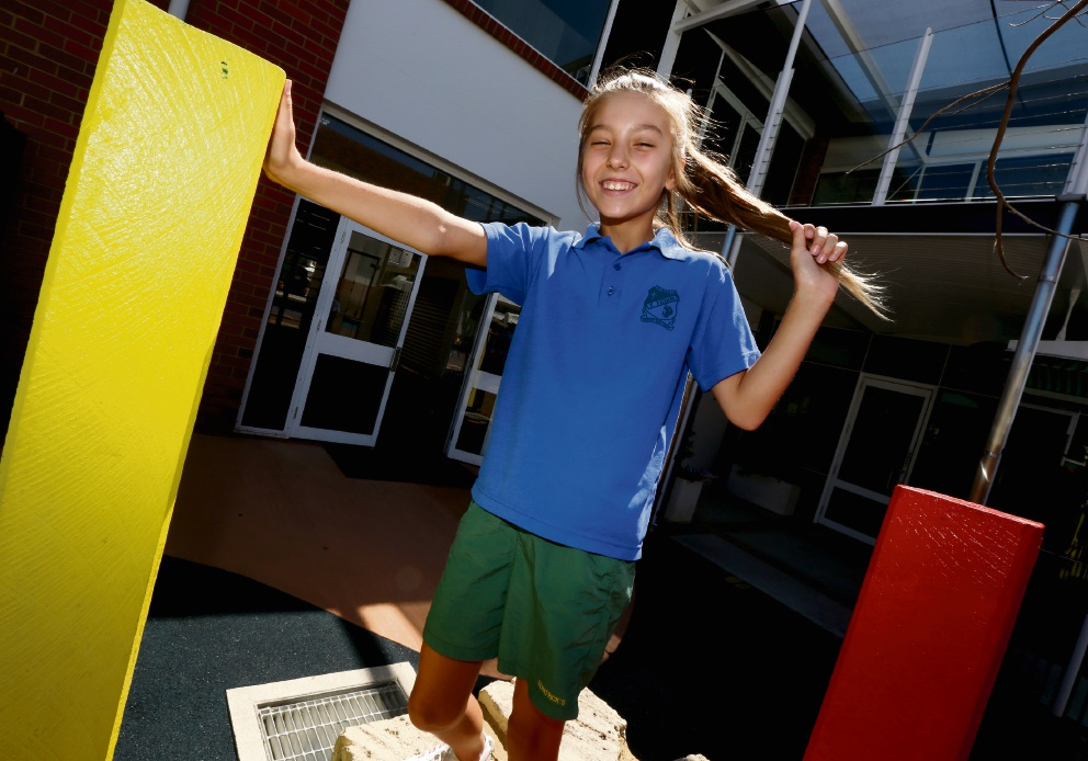 Tatjana Sutalo is just 11, but she is already achieving big things to help people in need. Picture: Matt Jelonek        www.communitypix.com.au   d466176