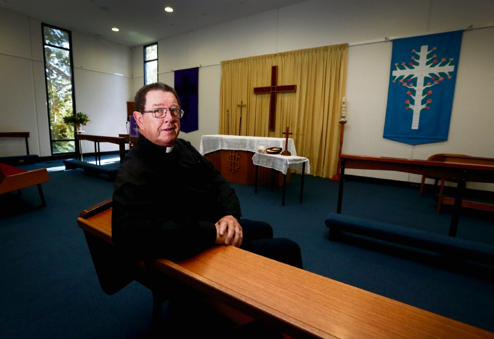 The Reverend Graeme Varvell of the Anglican Parish of the Holy Cross. Picture: Matt Jelonek  d466095