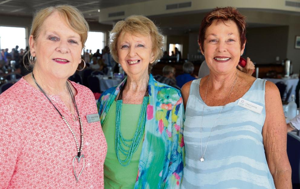 Barbara Haslinger, Fay Muir and Chez Canning.