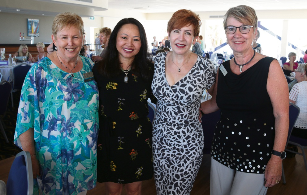 Charmaine Sherman, Carina Hoang, Verity James and Jean Newstead. Pictures: Martin Kennealey d464168