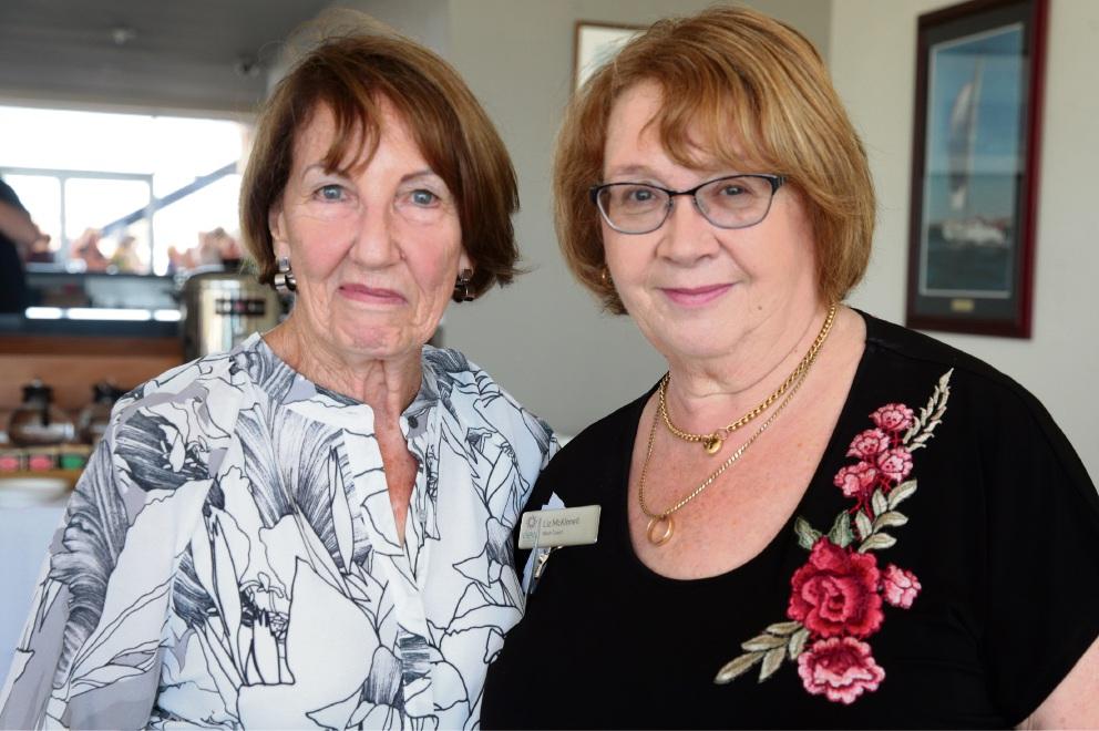 Diane Cook and Liz McKinnell.