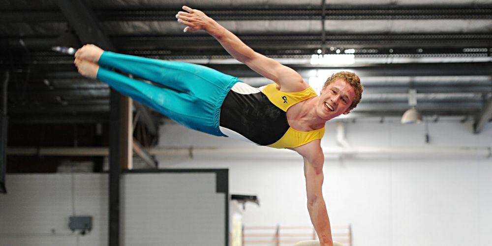 Gymnast Gabriel O'Sullivan.