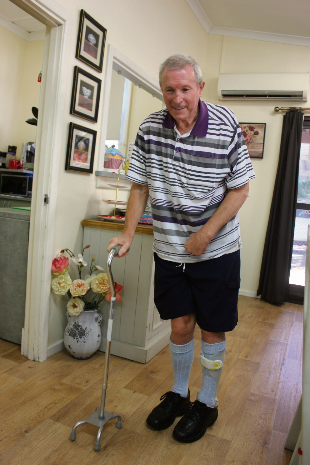 Stratton stroke sufferer now a picture of positivity