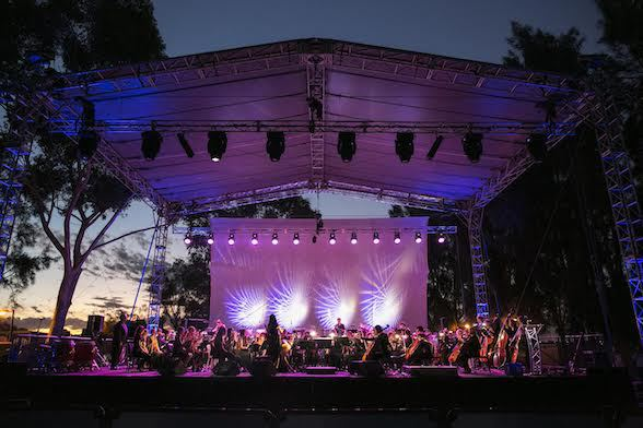 Music by Moonlight at Burswood Foreshore this Sunday