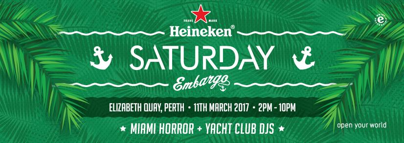 Heineken Saturday at Embargo Bar