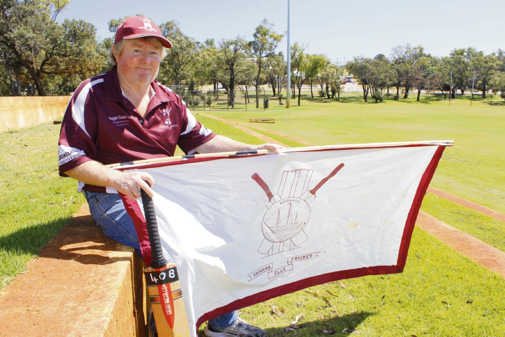 Darryl Jenkins has called it a day after 40 years playing for the Kwinana Cricket Club.