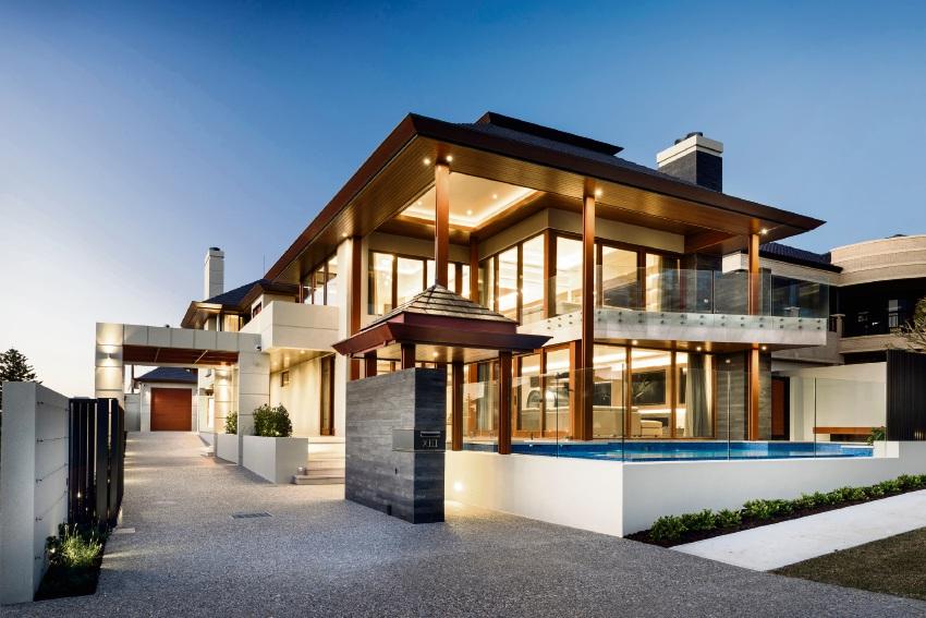 The multi-award-winning Watermans Bay residence.