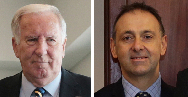 Rob Johnson and Peter Katsambanis's rivalry for the Hillarys seat will end this weekend.