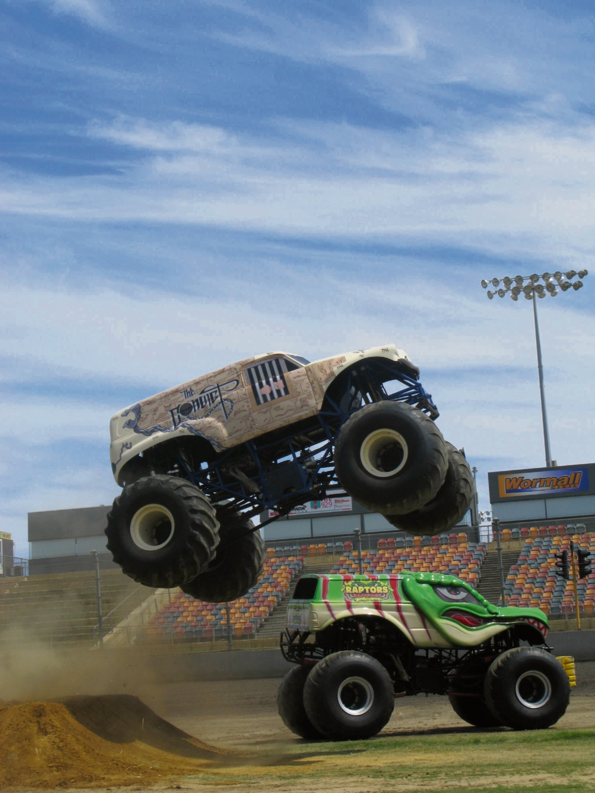 Unleashed IV: monster truck mayhem at Perth Motorplex