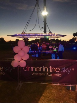 Dinner in the Sky will be allowed to re-open.