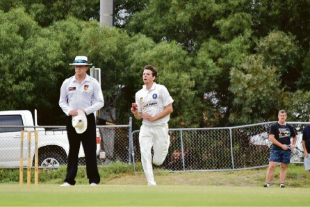 Jhye Richardson took three wickets in Fremantle's loss to Subiaco Floreat at Stevens Reserve over the weekend.