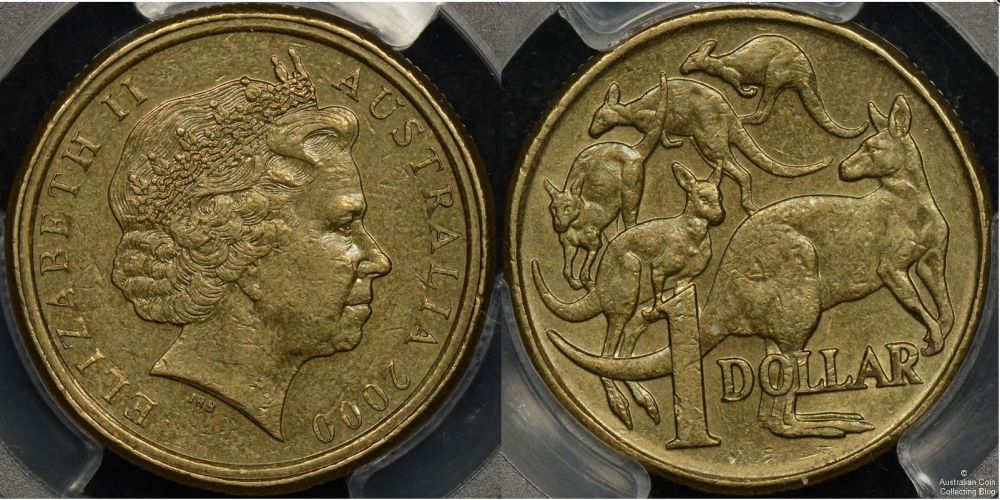 The distinctive double-rimmed coin. Photo: Australian Coin Collecting Blog.