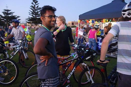 Light Me Up bike ride in Fremantle this Saturday