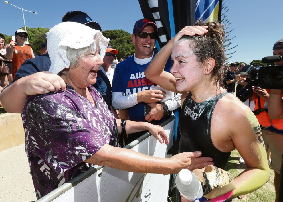Rottnest Channel Swim: Mosman Park brothers thought swim was over after support boat issues