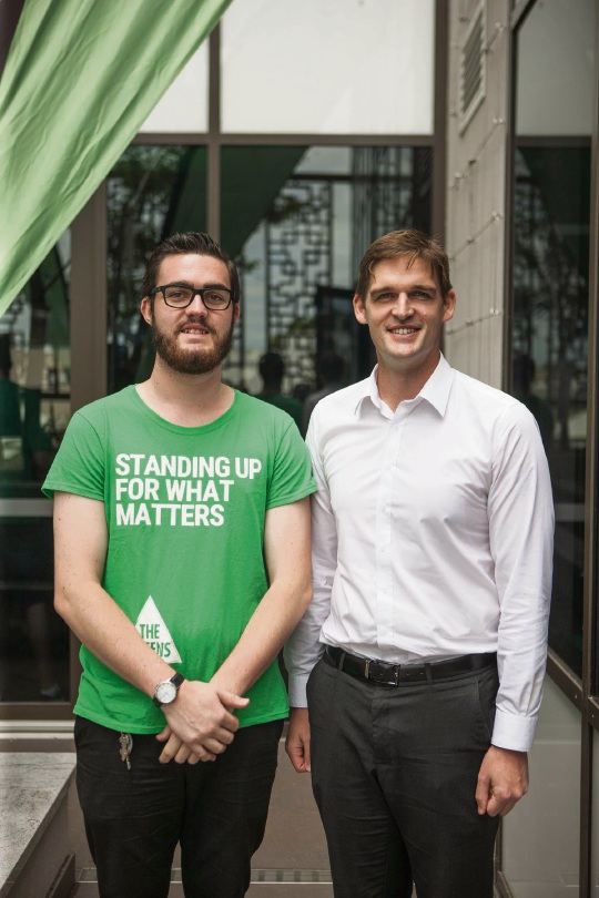 Greens candidate for Midland calls for open and honest government