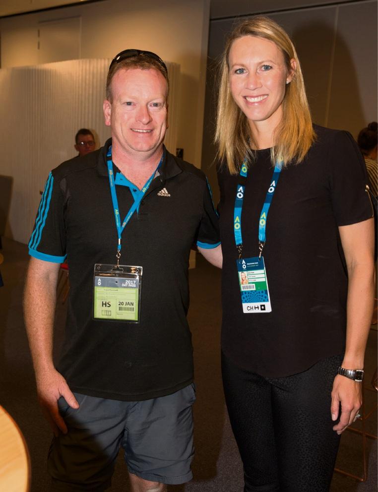 Landsdale teacher served up tips at tennis conference
