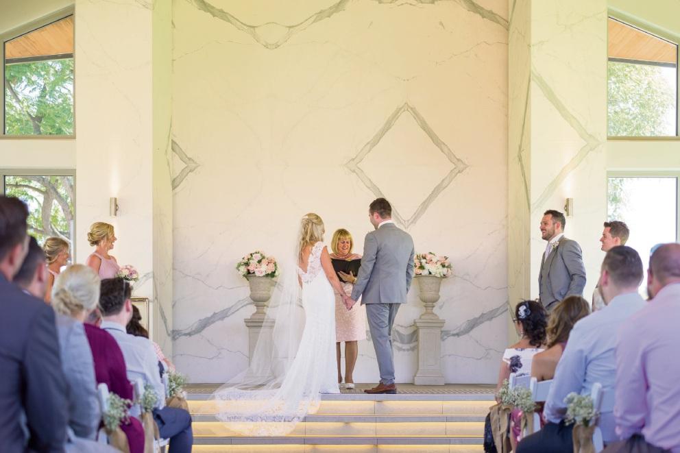 Marriage celebrants' double delight
