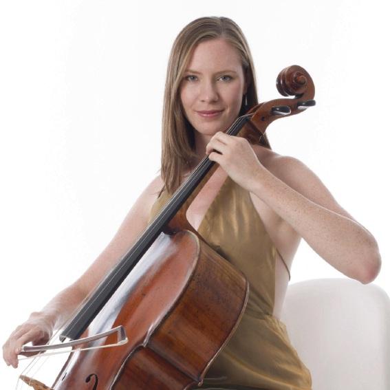 Cello player Louise McKay.