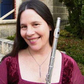 Flute player Emily Gunson.